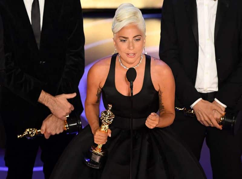 Lady Gaga wins her first Academy Award with Shallow