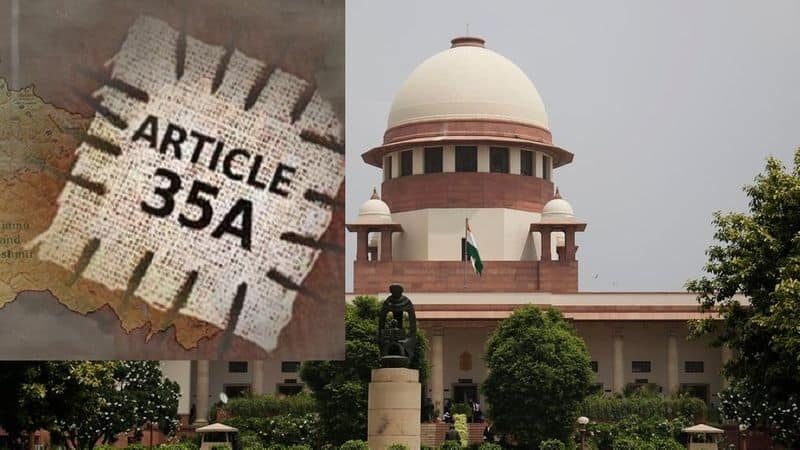 Hearing on Article 35A of Jammu Kashmir in Supreme court