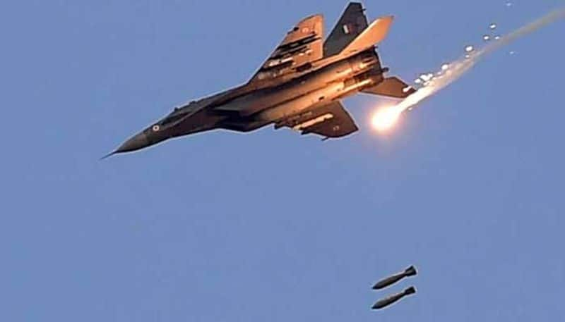 mirage 2000 bombards pok photos released by pakistan