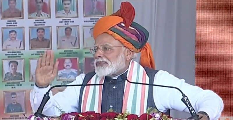 India is in safe hands, says prime minister Narendra Modi after IAF strikes terror camps in Pakistan Balakot