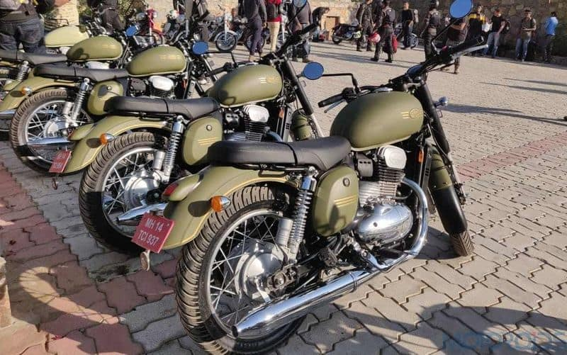 Kerala RTO has denied registration to Jawa 42 Galactic Green as it is similar to Army colour