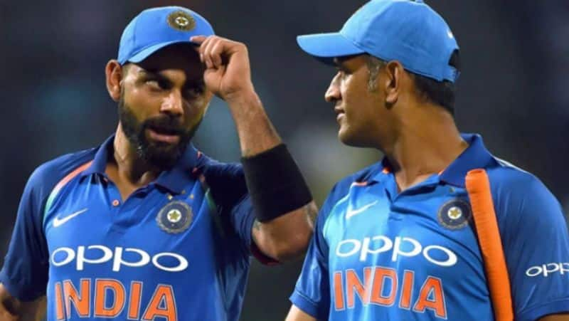 Is Virat Kohli the captain of Team India, considering Mahendra Singh Dhoni as a burden