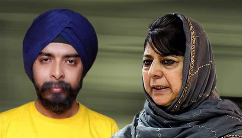Tajinder Bagga of BJP wants Mehbooba Mufti booked for sedition for remark on Article 35A