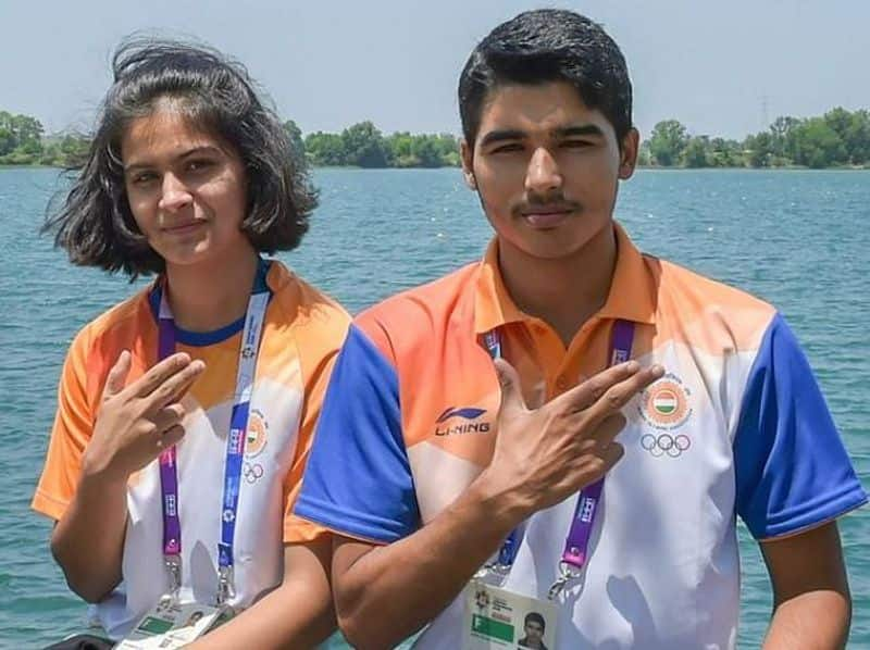 ISSF World Cup: Manu Bhaker, Saurabh Chaudhary win gold in 10m Air Pistol Mixed Team Event