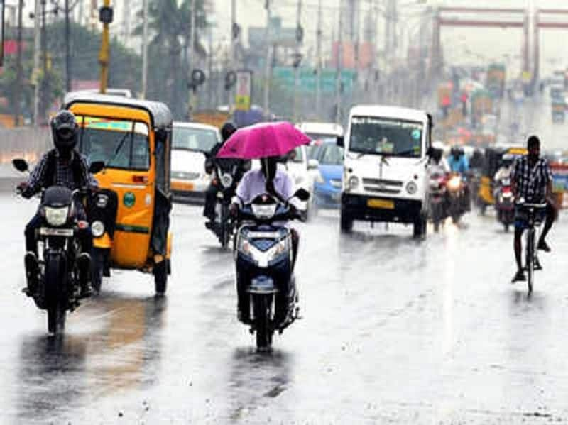 rain will be expected for next two days