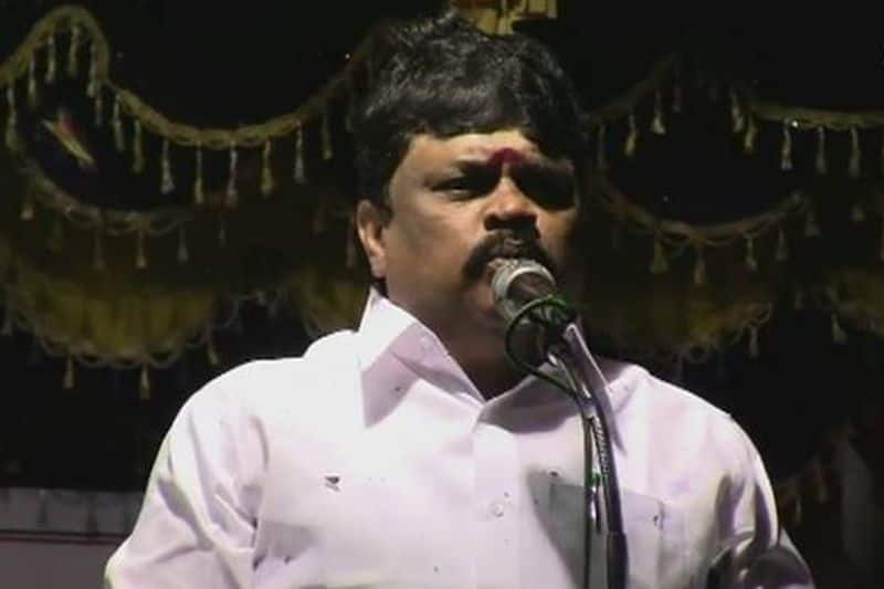 minister rajendra balaji tensed by hearing the word from actor kamal