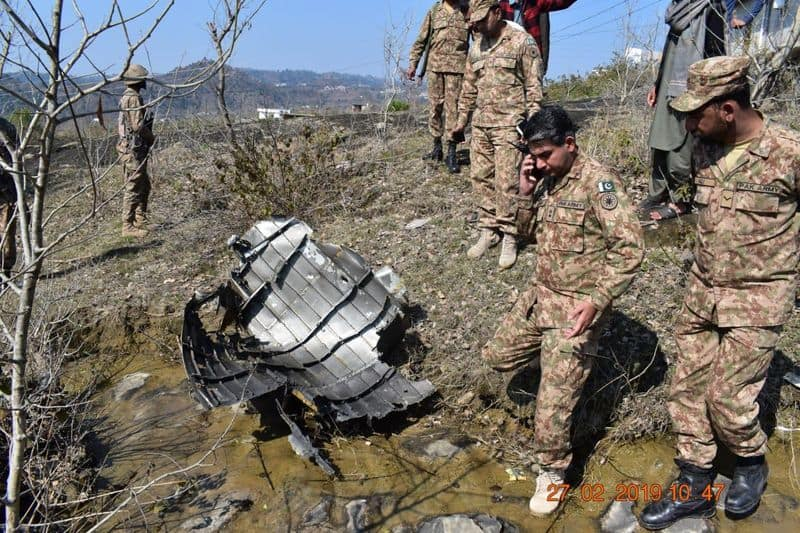 f16 plane scrap found in pakistan