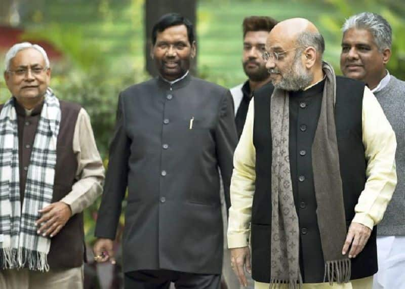 Apna dal leader meet bjp chief amit saha, change his frown for ahead general election