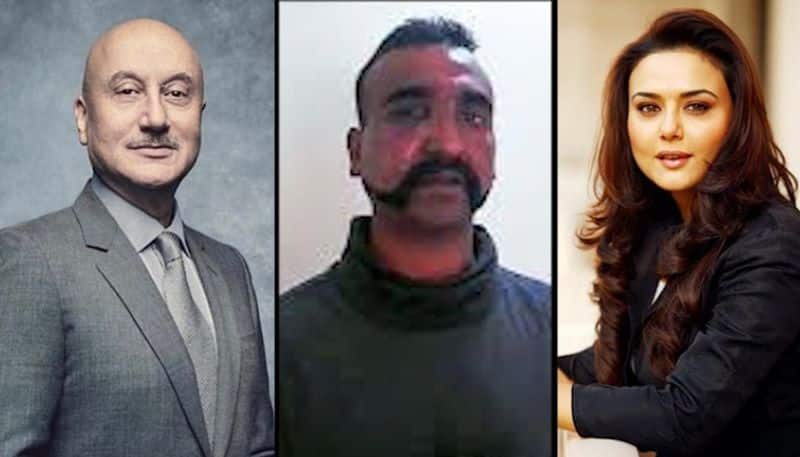 Celebs join the welcome celebrations for Wing Commander Abhinandan