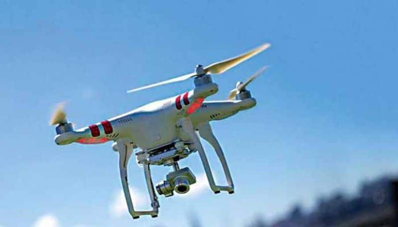 Indian Airforce shot down a pakistani drone in bikaner