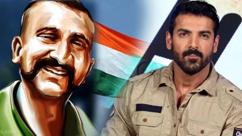 john abraham film RAW trailer release and in his next film he like to play wing commander abhinandan role