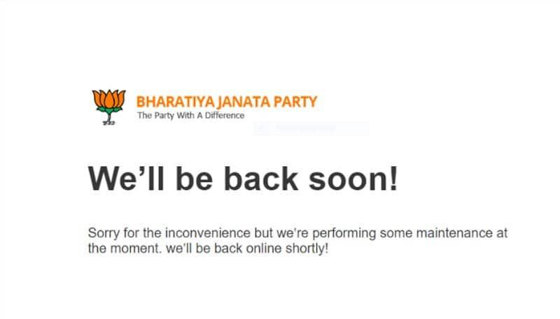 Pakistan tries to hack BJP website; Congress Divya Spandana plays petty politics