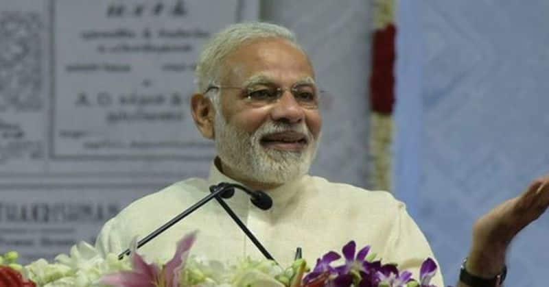 Election 2019 Kancheepuram Modi criticises Congress misusing Article 370