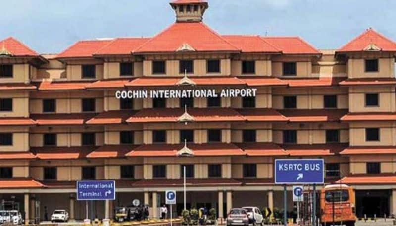 2500gm gold seized from SpiceJet cabin crew member at Kochi Airport