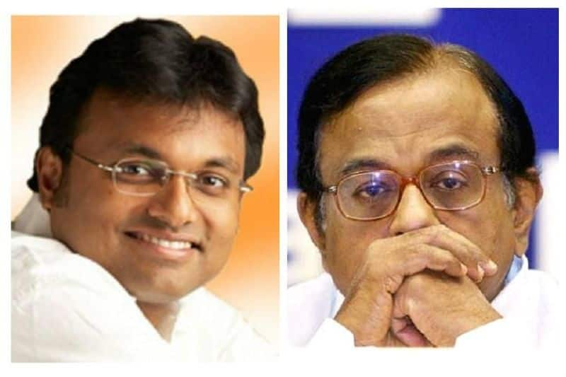 INX Media case Karti Chidambaram challenges Enforcement Directorate notice vacate house