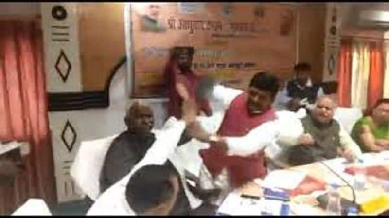 BJP MLA dream wants to be MP cause clash between them