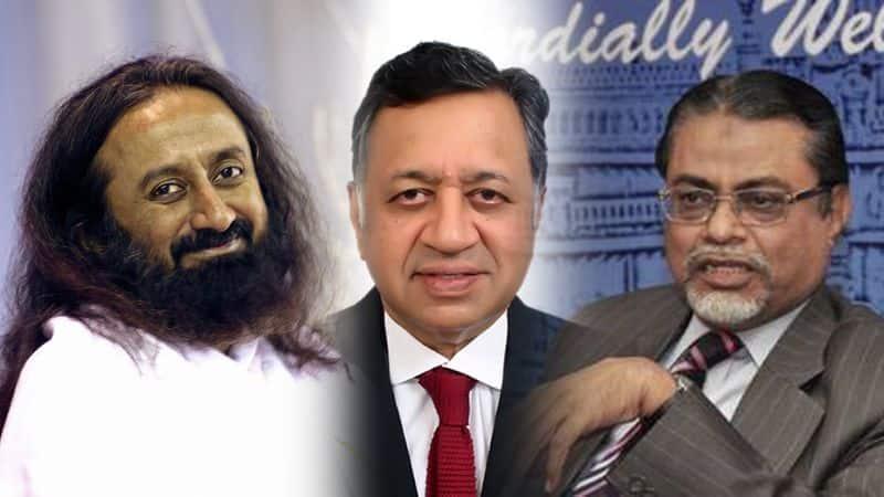 3 faces who mediate ayodhya ram mandir babri issue kalifulla ravishankar panchu