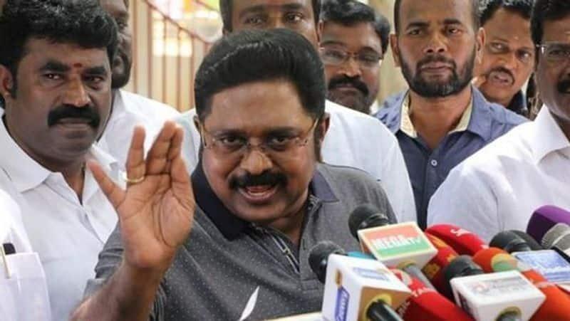 Dinakaran promise in jail... sasikala Refuse to accept