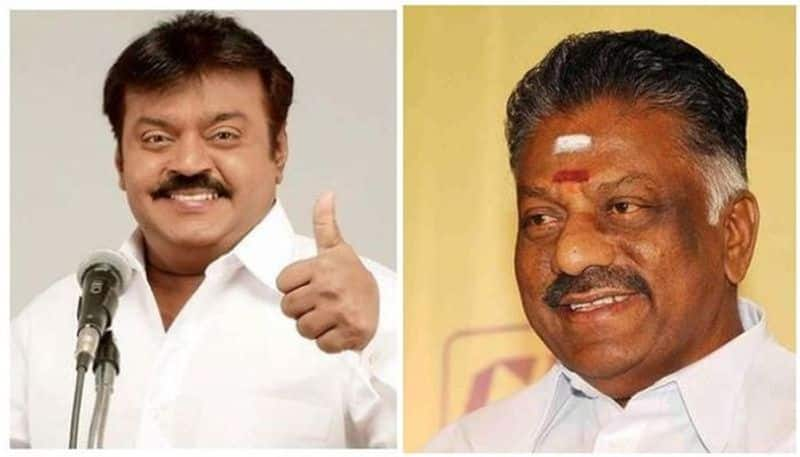 Tamil Nadu DMDK joins hands with AIADMK will contest four seats in Lok Sabha election