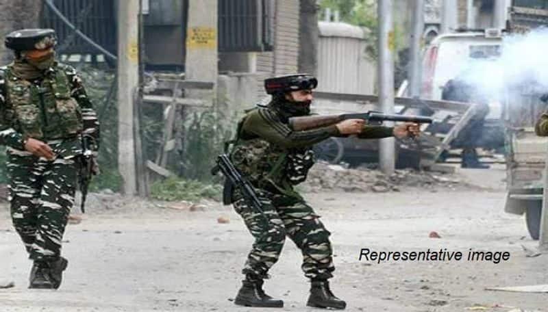 three terrorists killed encounter Tral Pinglish Pulwama Jammu-Kashmir