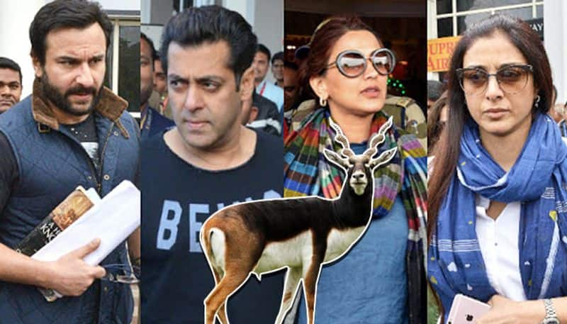 Blackbuck case: HC notice to Saif, Sonali, Tabu, Neelam after Rajasthan govt challenges their acquittal