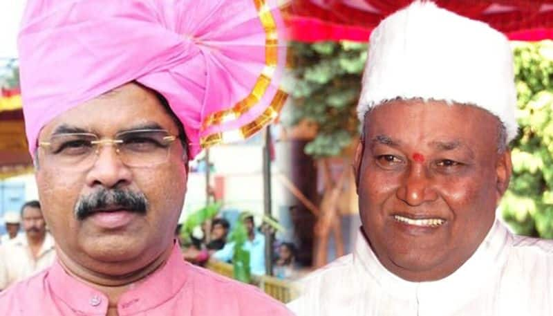 Trouble Karnataka BJP Yeddyurappa man Katta Subramanya Naidu Ashoka involved verbal spat