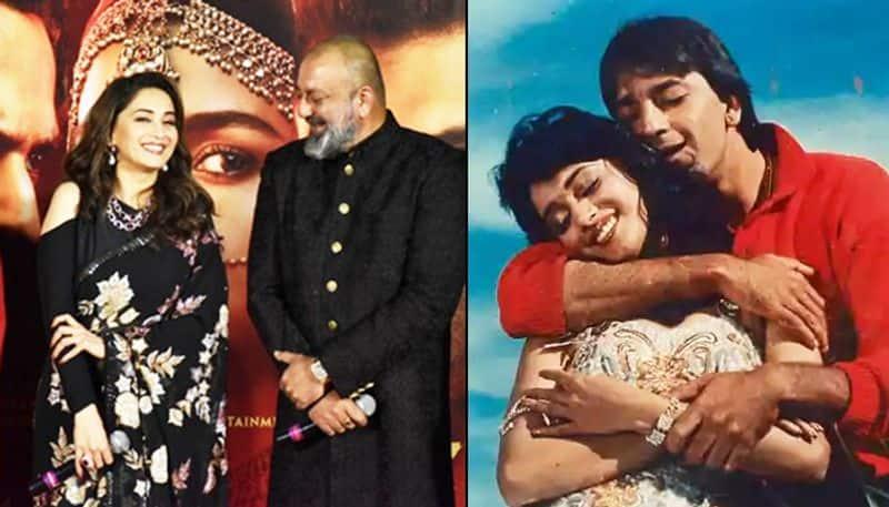 Real to reel? Saajan stars Sanjay Dutt, Madhuri Dixit may reunite again