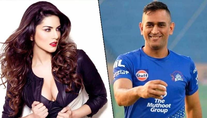 Here is why Sunny Leone is in love with Mahendra Singh Dhoni