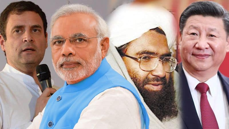 Masood Azhar ban issue: Weak PM Modi is scared of Xi Jinping says Rahul Gandhi