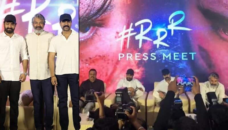RRR Telugu stars Ram Charan Jr NTR will make your jaw drop