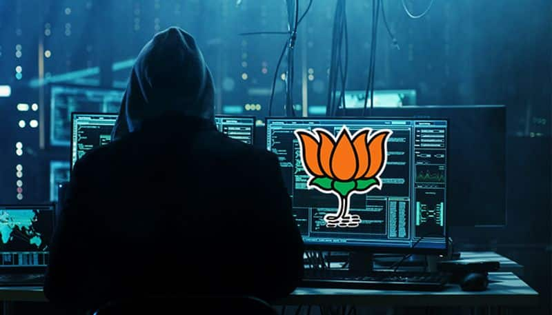 BJP official website hacked PM Modi takes oath