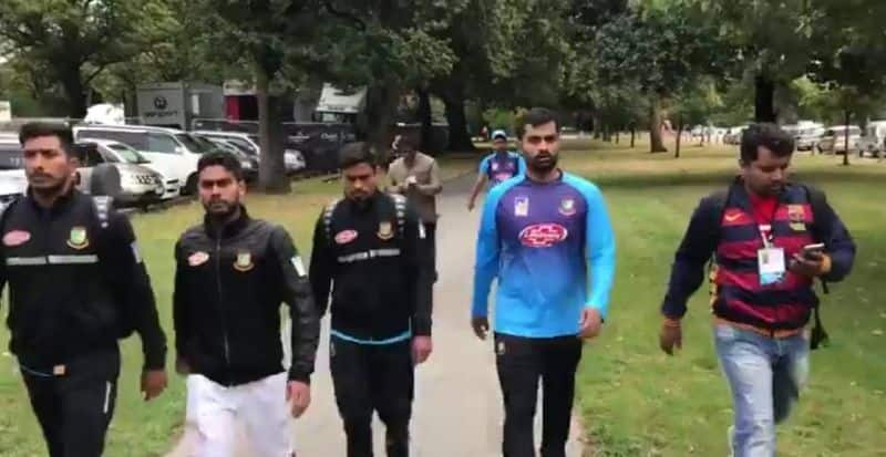 Christchurch shooting Bangladesh cricketers escape active shooters tour called off