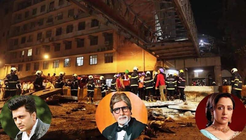 Mumbai bridge collapse: Bollywood take to Twitter to condole families of victims
