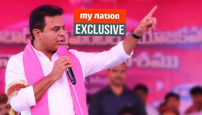 KT Rama Rao UPA NDA majority for TRS KTR interview regional parties in power