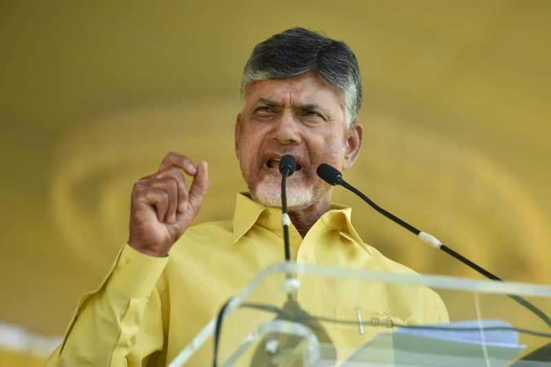 Chandrababu Naidu requests Election Commission extend polling time delays caused EVMs