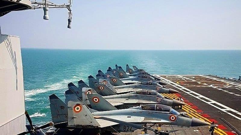 INS Vikramaditya, nuclear submarines deployed in northern Arabian Sea amid India-Pakistan tensions says Indian Navy