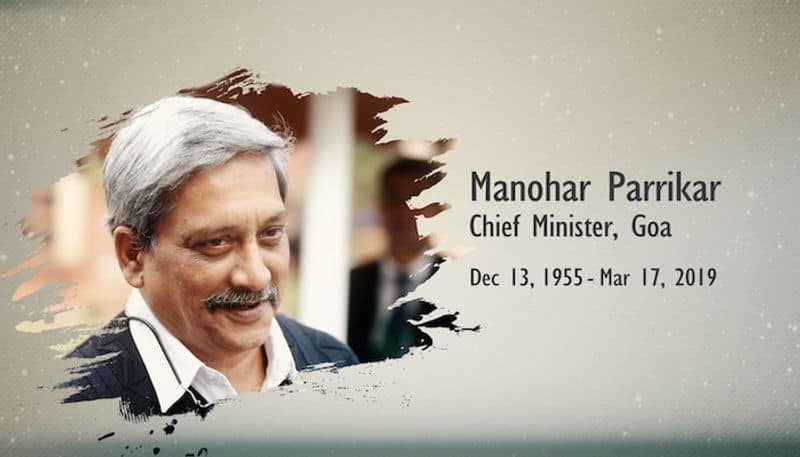 Late Manohar Parrikar will always be a role model for political people