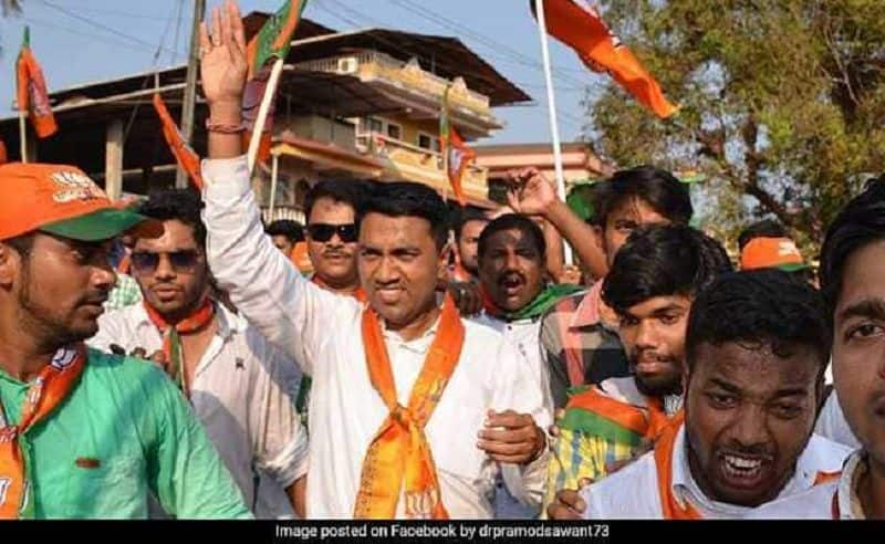 Pramod samant government today will prove majority test in goa assembly