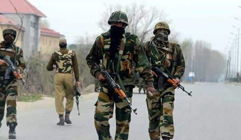 jammu kashmir late night firing between terrorists and security force