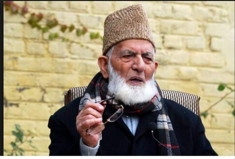 Separatist leader Syed Ali Shah Geelani resigns from All Party Hurriyat Conference SS