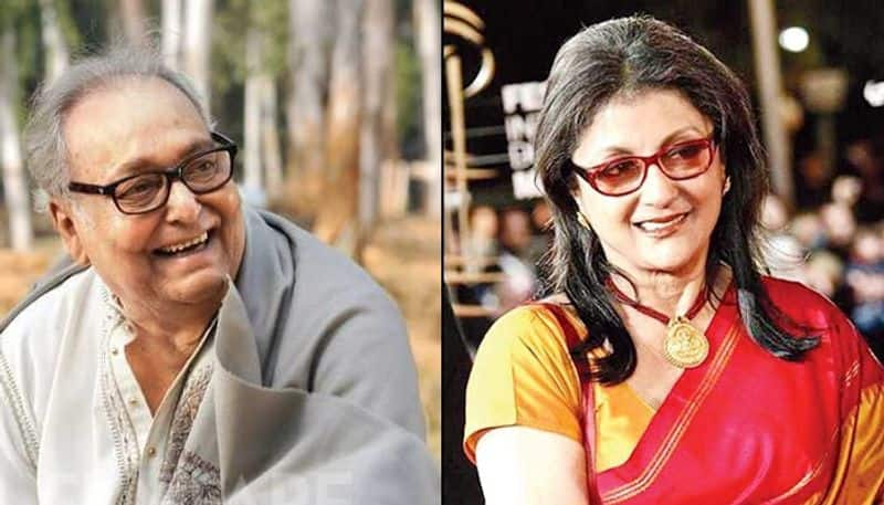 Aparna Sen: I always look forward to working with Soumitra Chatterjee
