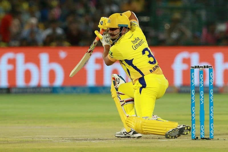 csk star player raina come back to form in the match against srh and scored 22 runs in an over
