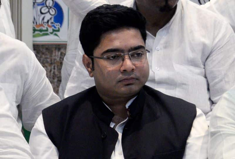 Bengal CM Mamta Nephew  Abhishek Banerjee in controversy again, this time over helipad in Salt Lake