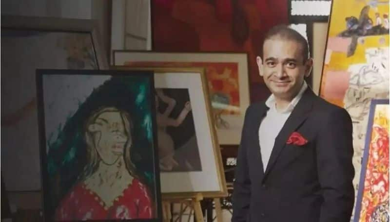 Scamster Nirav Modi made to pay up  paintings auctioned for Rs 55 crore