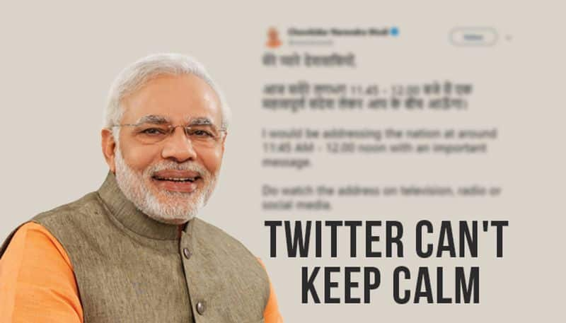 Why PM Modis tweet made people consider queuing up in front of ATM machines