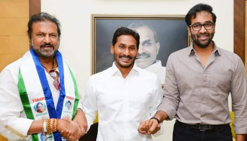 Actor Mohan Babu trolled for joining Jagan's YSR Congress