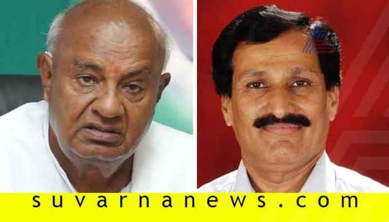 Muddahanume Gowda refuses budge CongressJDS alliance lies tatters
