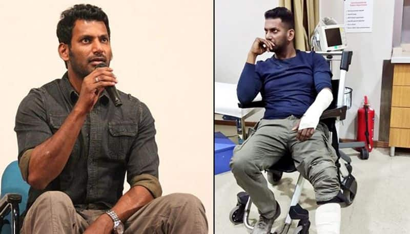 Tamil actor Vishal suffers injury while shooting bike sequence in Turkey