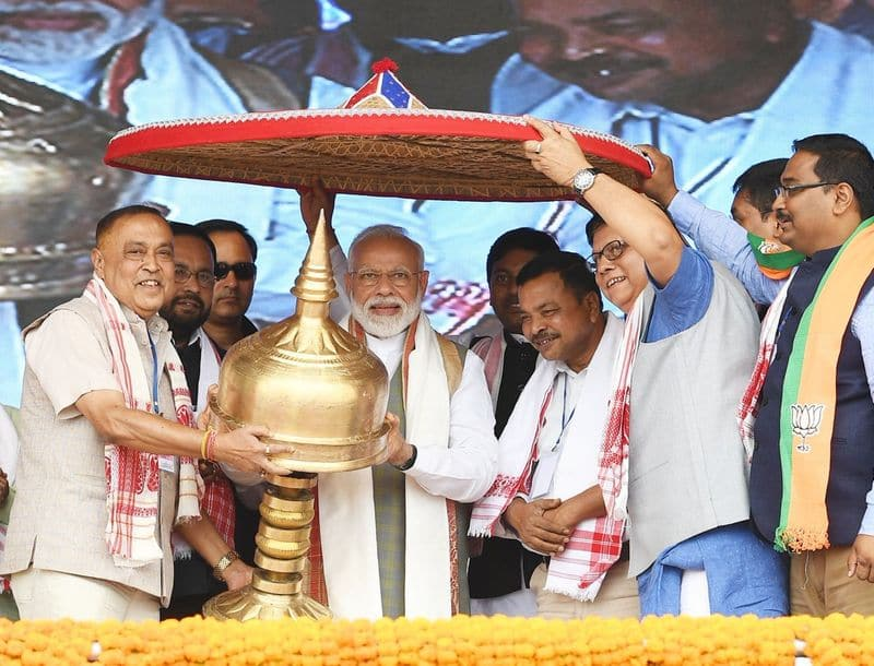 Election 2019 prime minister Narendra Modi campaign trail weekend northeast