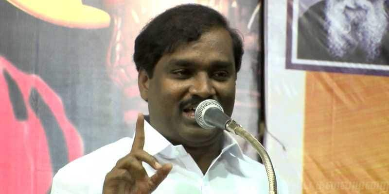 velmurugan condemns visit of rajapakse to india